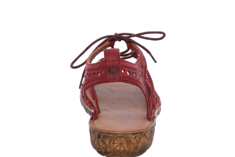 Josef Seibel Rosalie 15 Sandalen in Übergrößen Rot 79515 720 400 große Damenschuhe – Bild 3