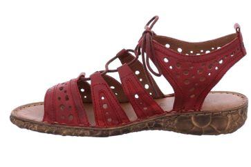 Josef Seibel Rosalie 15 Sandalen in Übergrößen Rot 79515 720 400 große Damenschuhe – Bild 2