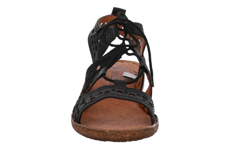 Josef Seibel Rosalie 15 Sandalen in Übergrößen Schwarz 79515 720 100 große Damenschuhe – Bild 6