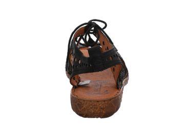 Josef Seibel Rosalie 15 Sandalen in Übergrößen Schwarz 79515 720 100 große Damenschuhe – Bild 3