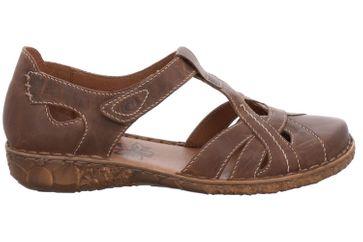 Josef Seibel Rosalie 29 Sandalen in Übergrößen Braun 79529 95 320 große Damenschuhe – Bild 4