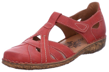 Josef Seibel Rosalie 29 Sandalen in Übergrößen Rot 79529 95 450 große Damenschuhe