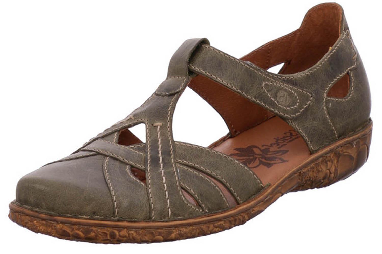 Josef Seibel Rosalie 29 Sandalen in Übergrößen Khaki 79529 95 630 große Damenschuhe – Bild 1