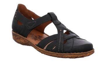 Josef Seibel Rosalie 29 Sandalen in Übergrößen Schwarz 79529 95 100 große Damenschuhe – Bild 5