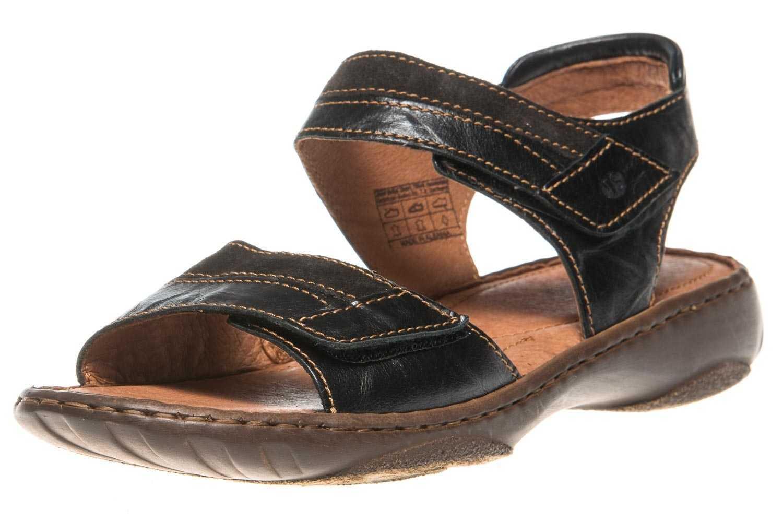 Josef Seibel SMU-Debra 19 Sandalen in Übergrößen Schwarz 76719 8813 102 große Damenschuhe – Bild 1