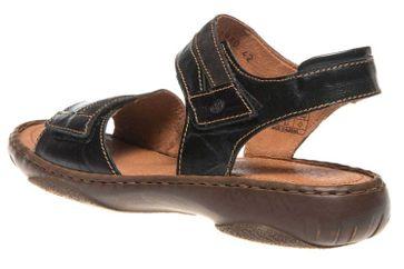 Josef Seibel SMU-Debra 19 Sandalen in Übergrößen Schwarz 76719 8813 102 große Damenschuhe – Bild 2