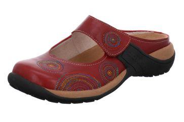 Romika Milla 20 Clogs in Übergrößen Rot 10020 90 460 große Damenschuhe