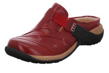 Romika Milla 26 Clogs in Übergrößen Rot 10026 90 460 große Damenschuhe