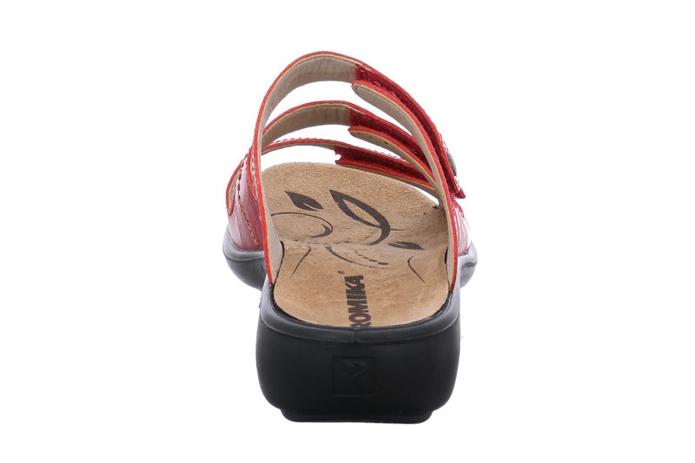 Romika Ibiza 66 Pantoletten in Übergrößen Rot 16066 69 400 große Damenschuhe – Bild 3