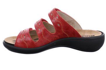 Romika Ibiza 66 Pantoletten in Übergrößen Rot 16066 69 400 große Damenschuhe – Bild 2