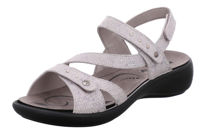 Romika Ibiza 70 Sandalen in Übergrößen Grau 16070 77 710 große Damenschuhe – Bild 1
