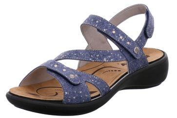 Romika Ibiza 70 Sandalen in Übergrößen Blau 16070 77 530 große Damenschuhe – Bild 1