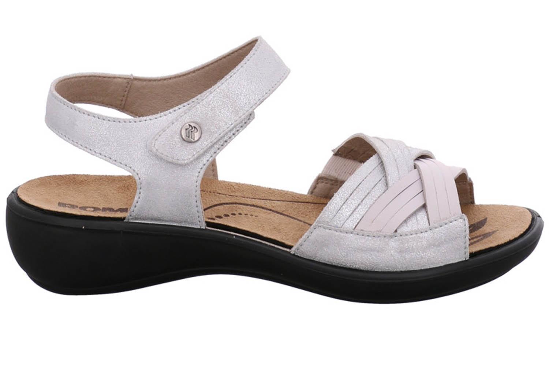 Romika Ibiza 85 Sandalen in Übergrößen Weiß 16085 49 000 große Damenschuhe – Bild 4