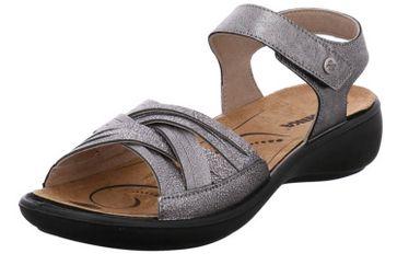 Romika Ibiza 85 Sandalen in Übergrößen Grau 16085 49 700 große Damenschuhe – Bild 1
