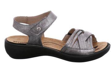 Romika Ibiza 85 Sandalen in Übergrößen Grau 16085 49 700 große Damenschuhe – Bild 4