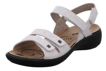 Romika Ibiza 86 Sandalen in Übergrößen Weiß 16086 96 000 große Damenschuhe