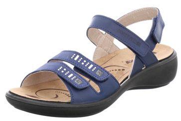 Romika Ibiza 86 Sandalen in Übergrößen Blau 16086 96 530 große Damenschuhe – Bild 1