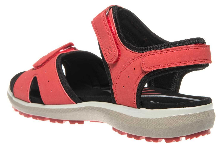 Romika Oliva 07 Sandalen in Übergrößen Rot 78307 78 400 große Damenschuhe – Bild 2