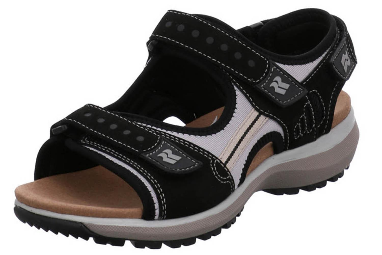 Romika Olivia 02 Sandalen in Übergrößen Schwarz 78302 78 100 große Damenschuhe – Bild 1