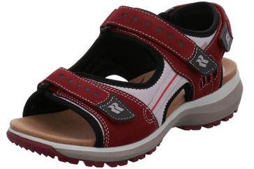 Romika Olivia 02 Sandalen in Übergrößen Rot 78302 78 420 große Damenschuhe – Bild 1