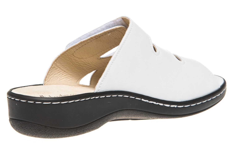 Hickersberger Vario Pantoletten in Übergrößen Weiß 5110 8080 große Damenschuhe – Bild 3