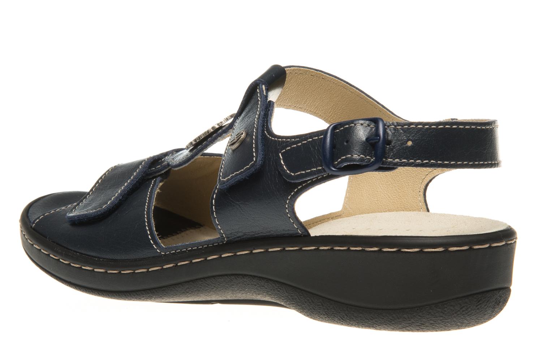 Hickersberger Vario Sandaletten in Übergrößen Blau 5108 7100 große Damenschuhe – Bild 2