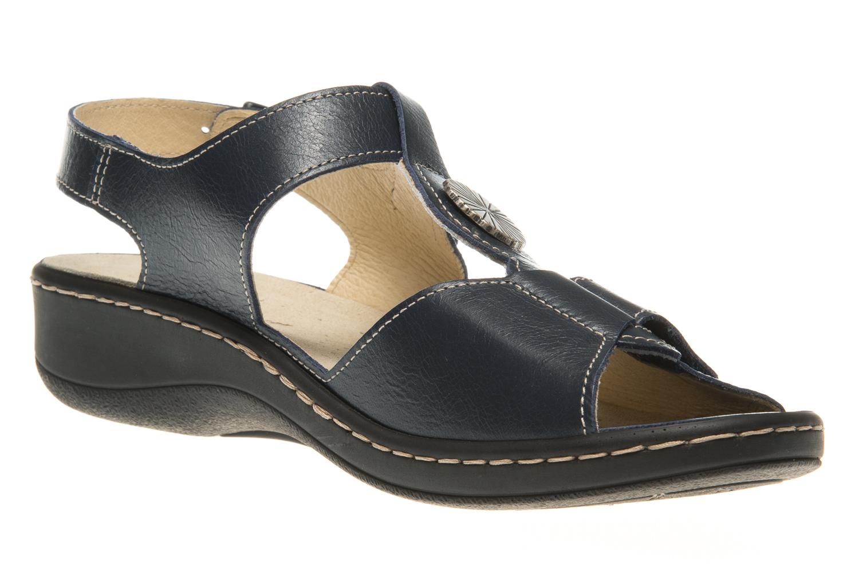 Hickersberger Vario Sandaletten in Übergrößen Blau 5108 7100 große Damenschuhe – Bild 5