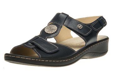 Hickersberger Vario Sandaletten in Übergrößen Blau 5108 7100 große Damenschuhe – Bild 1