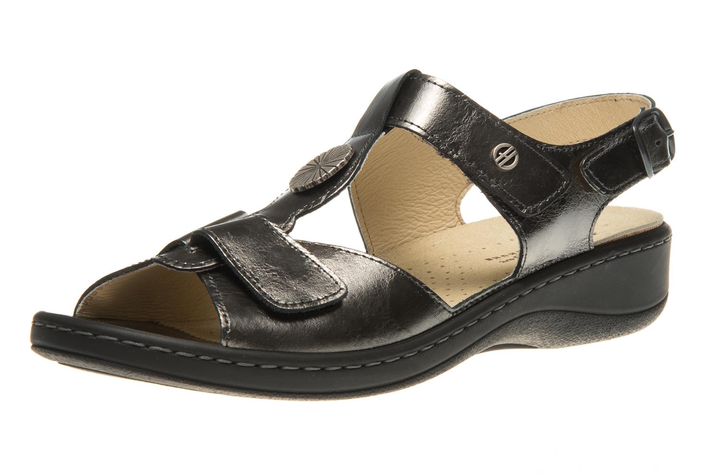 Hickersberger Vario Sandaletten in Übergrößen Grau 5108 2100 große Damenschuhe – Bild 1