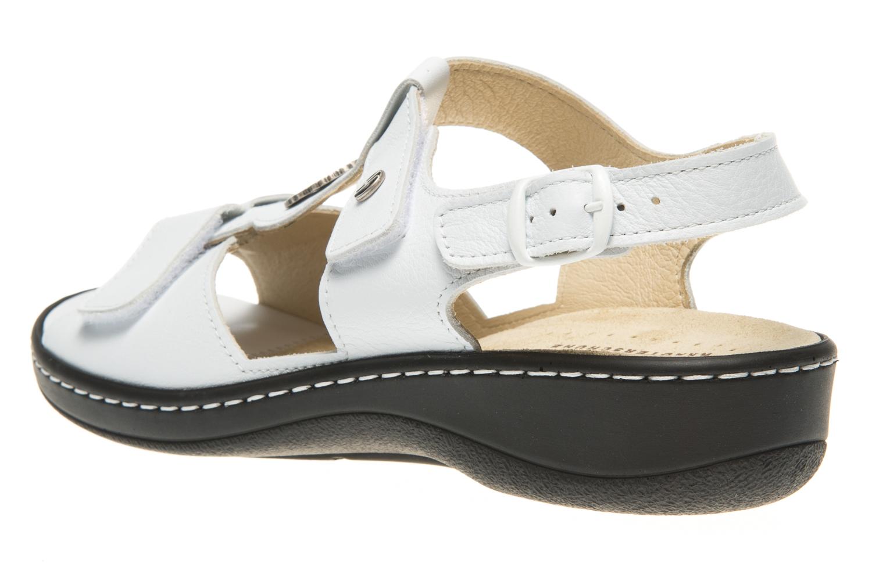 Hickersberger Vario Sandaletten in Übergrößen Weiß 5108 8100 große Damenschuhe – Bild 2