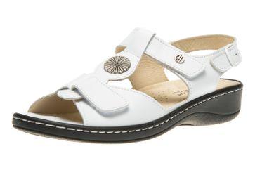 Hickersberger Vario Sandaletten in Übergrößen Weiß 5108 8100 große Damenschuhe