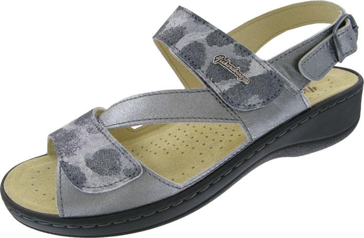 Hickersberger Vario Sandaletten in Übergrößen Grau 2847 2095 große Damenschuhe – Bild 1