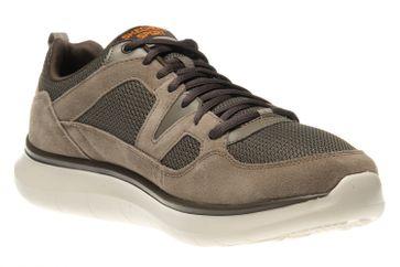 Skechers QUANTUM-FLEX COUNTRY WALKER Sneakers in Übergrößen Braun 52905/BRN große Herrenschuhe – Bild 5