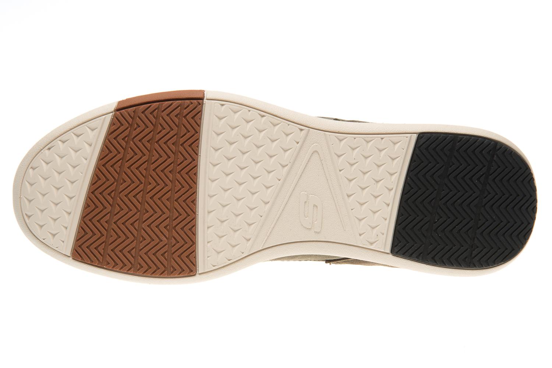 Skechers ELENT ARVEN Sneakers in Übergrößen Grün 65494/OLV große Herrenschuhe – Bild 6