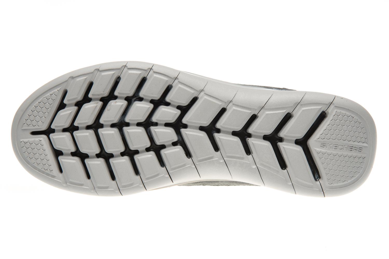 Skechers QUANTUM-FLEX COUNTRY WALKER Sneakers in Übergrößen Grau 52905/CCBK große Herrenschuhe – Bild 7