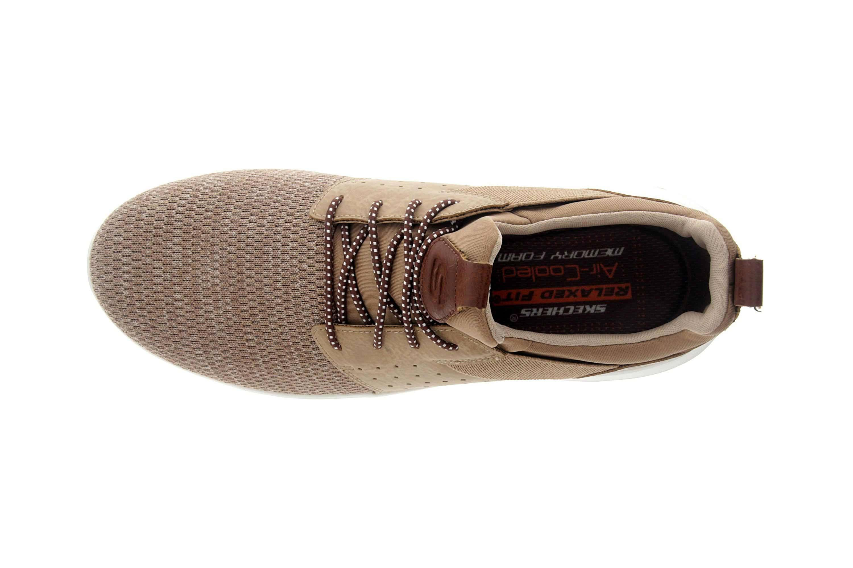 Skechers DELSON CAMBEN Sneakers in Übergrößen Braun 65474 XEj6d