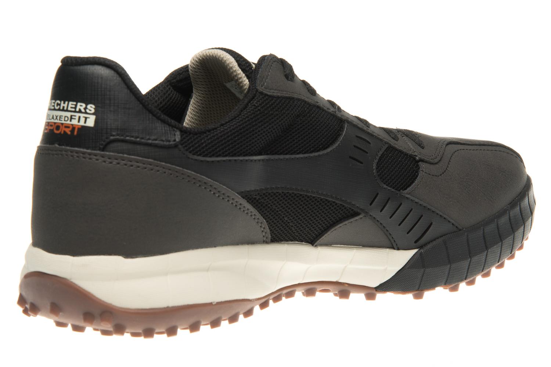 Skechers FLOATER 2.0 Sneakers in Übergrößen Schwarz 51852/BLK große Herrenschuhe – Bild 3