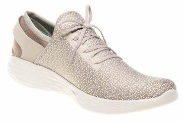 Skechers YOU INSPIRE Sneakers in Übergrößen Beige 14950/NAT große Damenschuhe – Bild 5