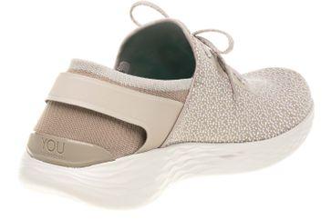 Skechers YOU INSPIRE Sneakers in Übergrößen Beige 14950/NAT große Damenschuhe – Bild 3