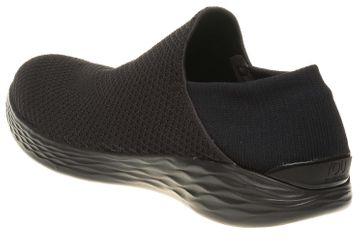 Skechers YOU Sneakers in Übergrößen Schwarz 14951/BBK große Damenschuhe – Bild 2
