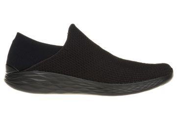 Skechers YOU Sneakers in Übergrößen Schwarz 14951/BBK große Damenschuhe – Bild 4