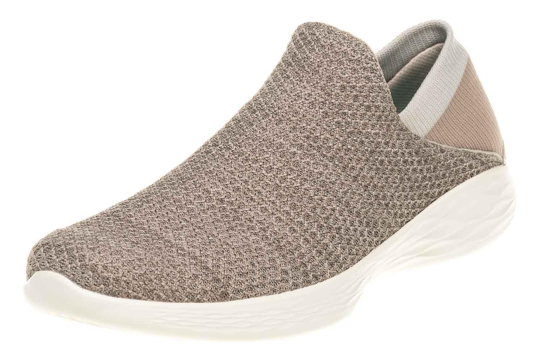 Skechers YOU Sneakers in Übergrößen Grau 14951/TPE große Damenschuhe – Bild 1