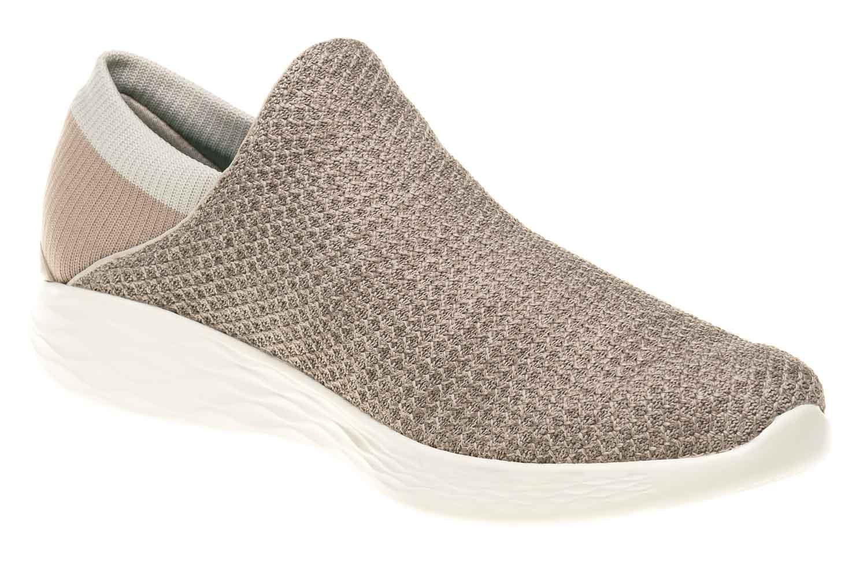 Skechers YOU Sneakers in Übergrößen Grau 14951/TPE große Damenschuhe – Bild 5