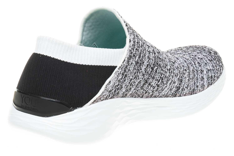 Skechers YOU Sneakers in Übergrößen Weiß 14951/WBK große Damenschuhe – Bild 3