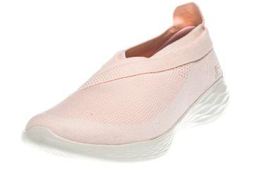 Skechers YOU LUXE Sneakers in Übergrößen Pink 14955/PNK große Damenschuhe – Bild 1