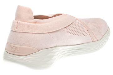 Skechers YOU LUXE Sneakers in Übergrößen Pink 14955/PNK große Damenschuhe – Bild 3