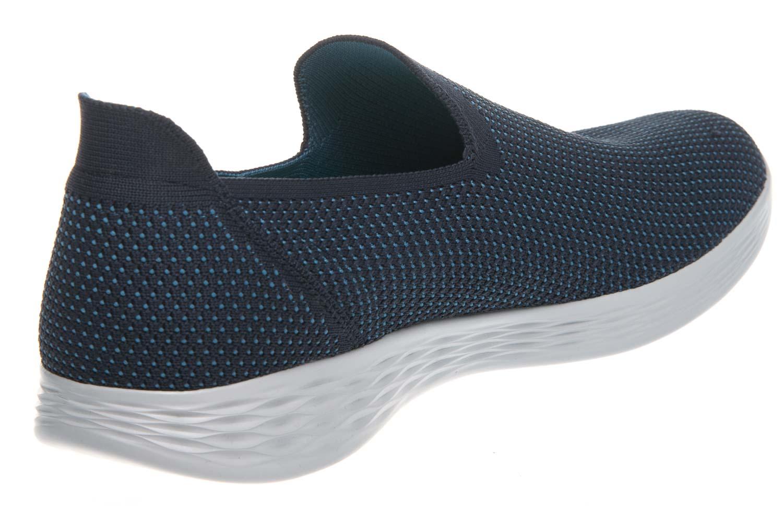 Skechers YOU DEFINE Sneakers in Übergrößen Blau 14956/NVBL große Damenschuhe – Bild 3