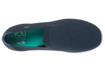 Skechers YOU DEFINE Sneakers in Übergrößen Blau 14956/NVBL große Damenschuhe – Bild 7