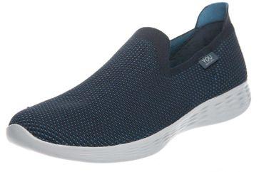 Skechers YOU DEFINE Sneakers in Übergrößen Blau 14956/NVBL große Damenschuhe – Bild 1