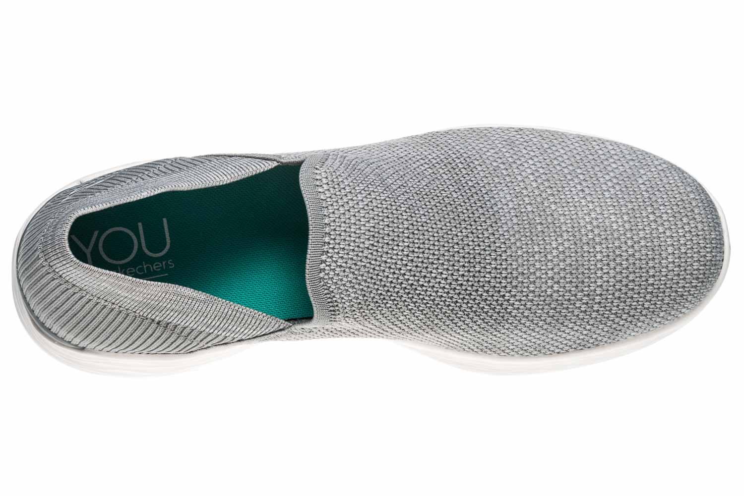 Skechers YOU RISE Sneakers in Übergrößen Grau 14958/GRY große Damenschuhe – Bild 7